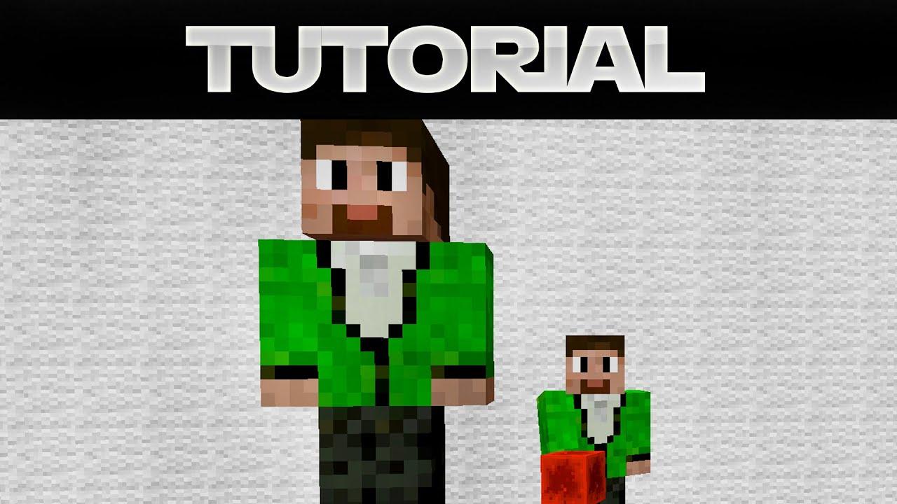 SkinStatue In Minecraft Erstellen YouTube - Minecraft spielerkopfe erstellen
