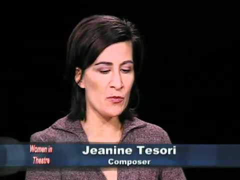 Women in Theatre: Jeanine Tesori, composer