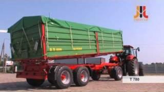 PRONAR Przyczepa trójosiowa T780