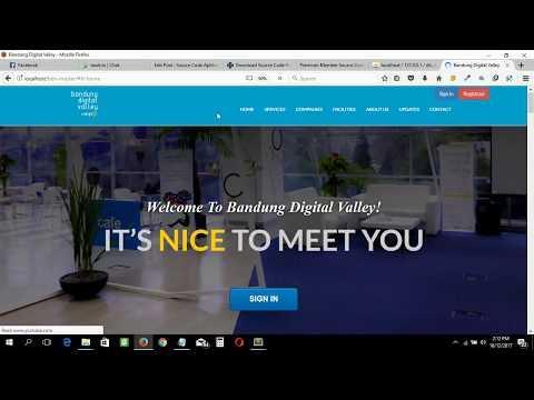 Source Code Aplikasi Company Profile Menggunakan Codeigniter & Mysql