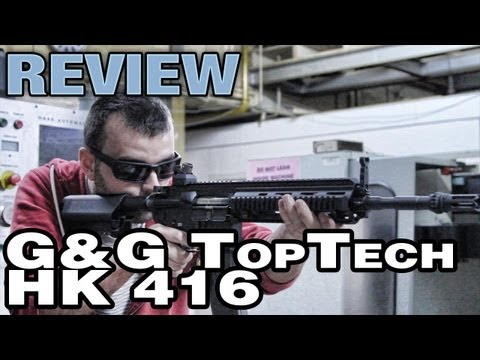 G&G Top Tech T4-18 Review H&K 416 - EpicAirsoftHD
