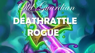 Deathrattle Rogue, part 1 (Hearthstone Boomsday deck)
