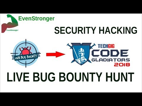 HTML Injection Live bug bounty hunt - techgig.com | EvenStronger