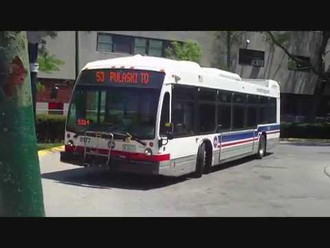 CTA #53 Pulaski Road bus (NB trip) route from Pulaski/31st to Pulaski/Peterson Part 3