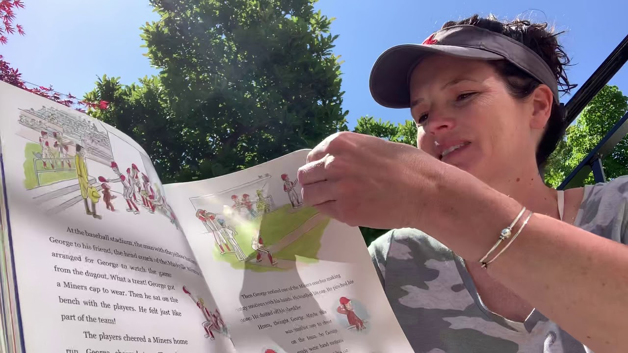 Curious George at the Baseball Game ~ READ ALOUD by Will ...