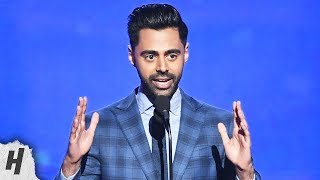hasan minhaj trolls james harden kyle korver 2019 nba awards