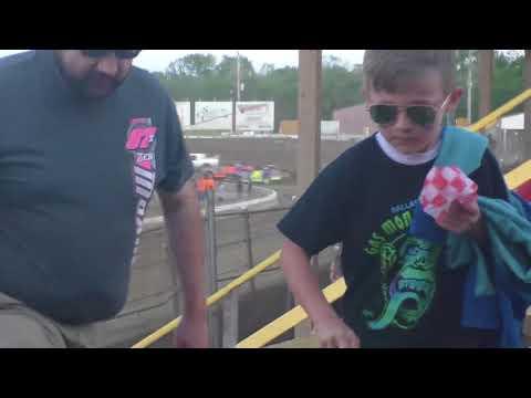 Belle-Clair Speedway May 11, 2018 Purestock Heat
