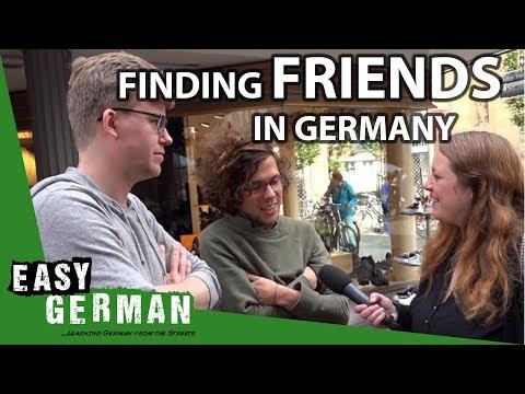 Finding friends in Germany | Easy German 105