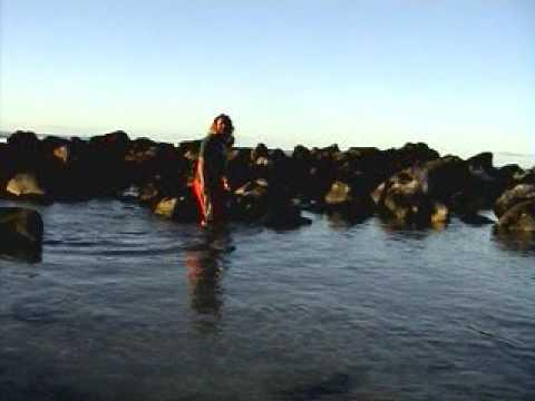Trego fishing in Raro 2004