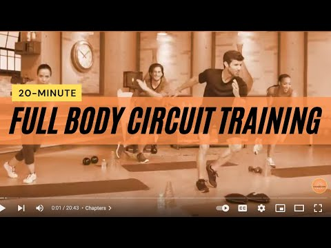 Adam Michael Brewer's 20 Minute Full Body Circuit Training Workout