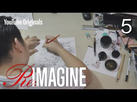 EP 5 Inside MARVEL's Creative Universe | Re:IMAGINE