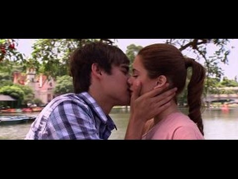 Виолетта и Леон поцелуи)