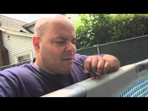 Cleaning a dirty murk dark brown above ground pool - How to clean a dirty swimming pool ...