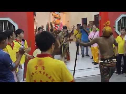 Indians in Trance / Dancing - Taoist Temple (Video 6)