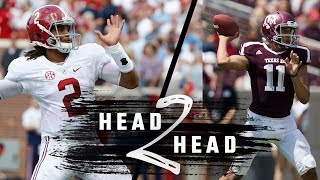Head To Head: Alabama vs. Texas A&M