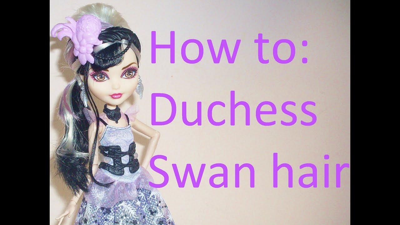 style duchess swan doll
