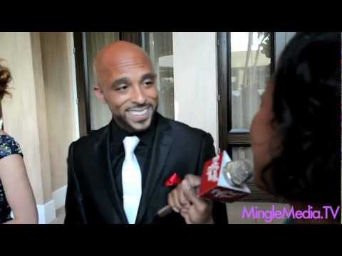 David Bianchi @davidbianchi at the 27th Annual Imagen Awards Red Carpet Report Interview