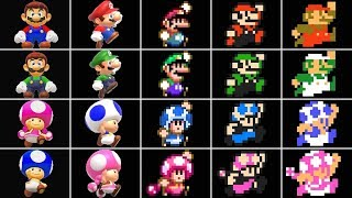 Super Mario Maker 2 - All Characters