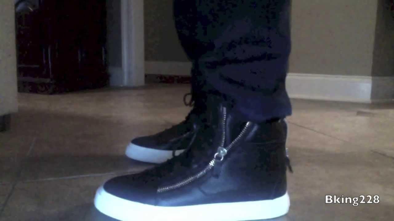 Giuseppe Zanotti Sneakers - On Feet