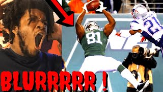 JETS VS PATRIOTS REACTION NFL WEEK 7 HIGHLIGHTS - NASTIEST CATCH OUT THE WHOLE GAME !