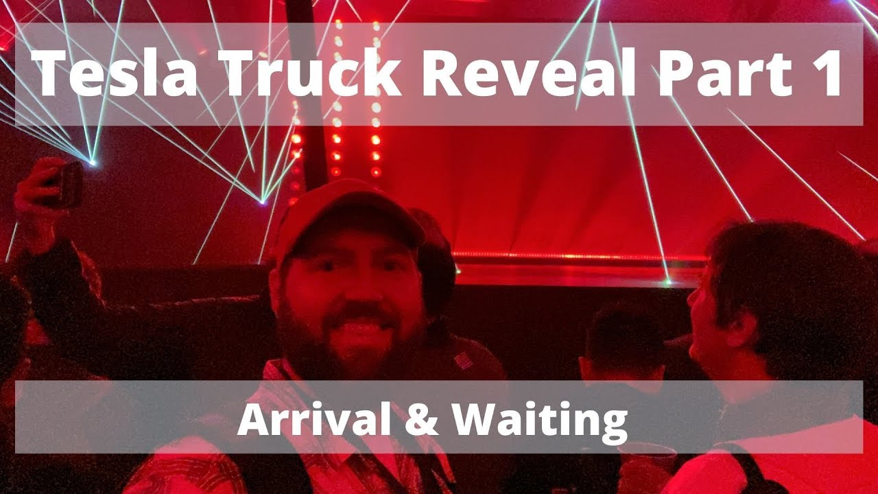 Download Tesla CyberTruck Unveiling Event Experience - Arrival (Waiting)