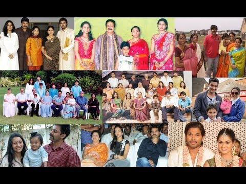 Telugu actors family photos - Tollywood families