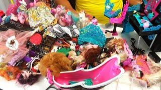 ЧТО БУДЕТ, если папа найдет коробку дочери с куклами Монстер Хай и Барби? Папа Рулит и Gaya Roz