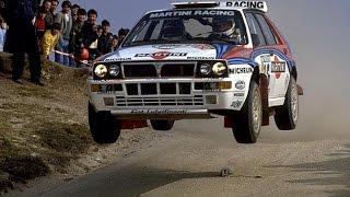 [WRC] Lancia Delta HF intégrale WRC compilation PURE SOUND ENGINE HD