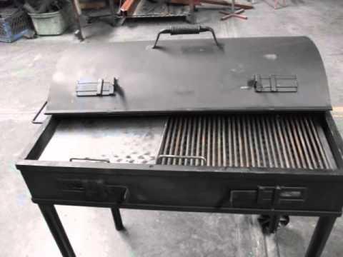 Fabricacion de asador herreria hjr youtube - Como hacer un asador ...
