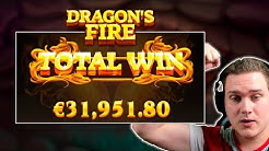 5000X+!!!! MASSIVE WIN ON DRAGON'S FIRE - RED TIGER