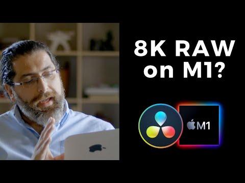 DaVinci Resolve + M1: Can it edit 8K RAW?