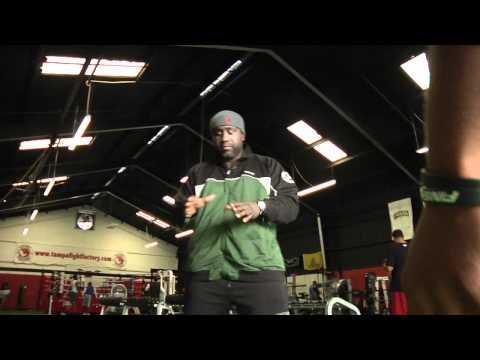 Ian Beckles workout video