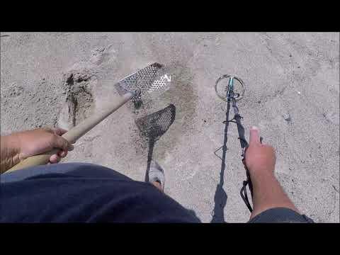 Beach Metal Detecting 4/27/18