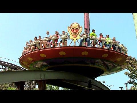 Tiki Twirl off-ride HD California's Great America