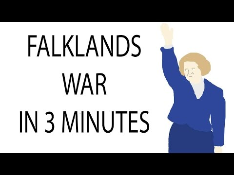 Falklands War | 3 Minute History