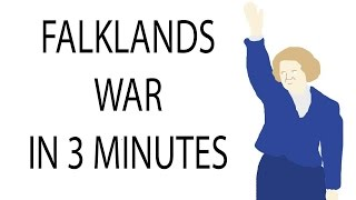 Falklands War   3 Minute History
