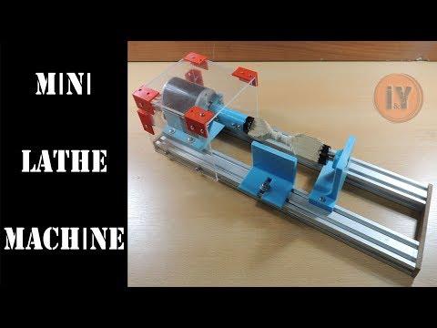 MINI LATHE MACHINE FOR WOODWORKING - CHEAP & CHIC