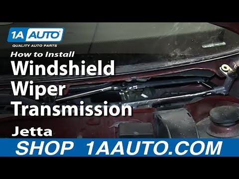 How to Replace Windshield Wiper Transmission 99-11 Volkswagen Jetta