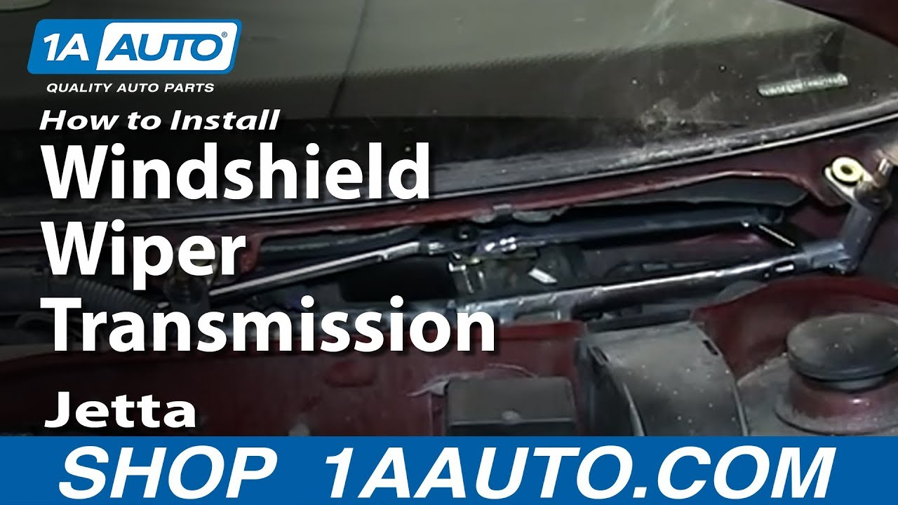 How To Install Replace Windshield Wiper Transmission 1999