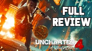 Uncharted 4 Review: PERFECT MASTERPIECE OR PRETTY GOOD?? (FULL Spoiler Free + Spoiler Sections!!)