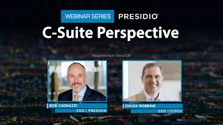 C-Suite Perspective Webinar Series: Cisco