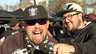 Oakland Raiders vs San Francisco 49ers Tailgate Experience 2018