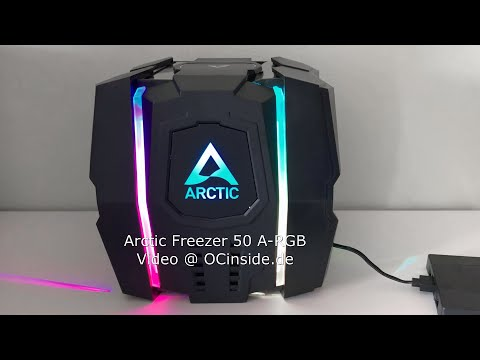 Arctic Freezer 50 ARGB Effekte Video