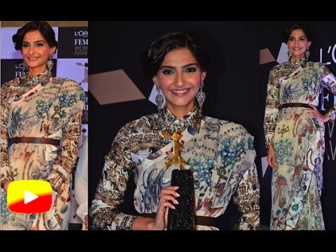 L'oreal Paris Femina Women Awards 2014 Inauguration│Sonam Kapoor