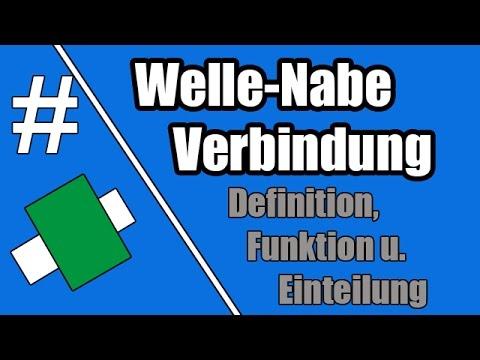 Welle Nabe Verbindung Definition Funktion Und Einteilung 1