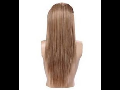 160 gram dark ash blonde remy clip in hair extensions