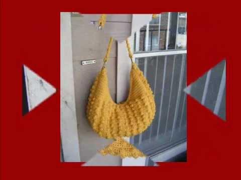 Crochet Crescent Hobo Bag Pattern Youtube