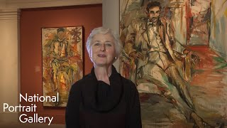Elaine de Kooning, Portrait in a Minute