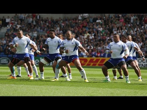 Amazing hakas and tribal war dances during Rugby World Cup 2015