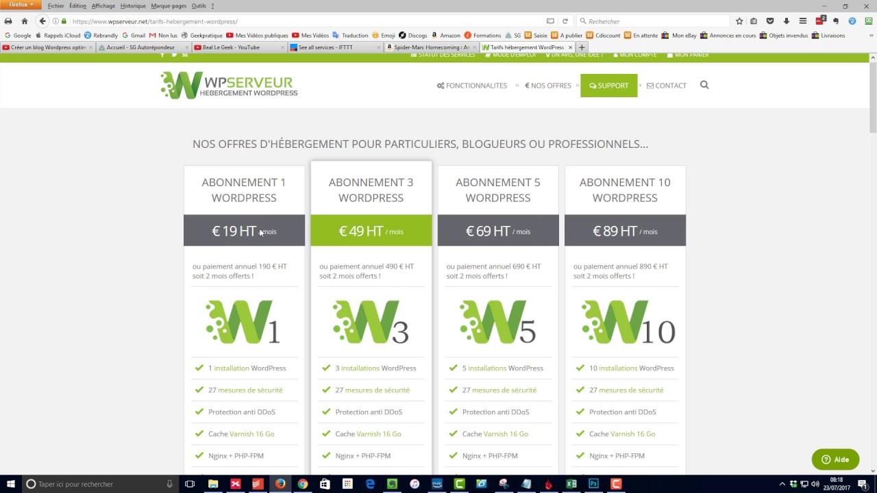 le meilleur h u00e9bergeur web pour votre boutique en ligne